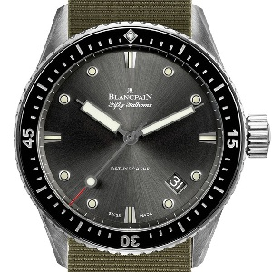 Blancpain Fifty Fathoms 5000-1110-NAKA - Worldwide Watch Prices Comparison & Watch Search Engine