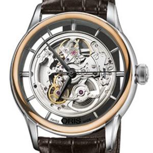 Oris Artelier 01 734 7684 6351-07 1 21 73FC - Worldwide Watch Prices Comparison & Watch Search Engine
