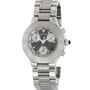 Cartier Chronoscaph 21 2424 - Worldwide Watch Prices Comparison & Watch Search Engine