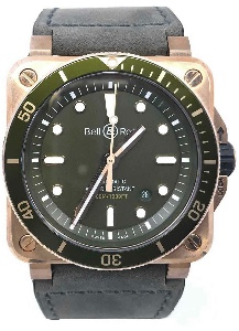 Bell & Ross Instruments BR0392-D-G-BR/SCA - Worldwide Watch Prices Comparison & Watch Search Engine