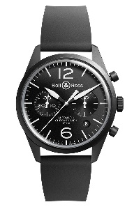 Bell & Ross BR 126 BRV126-BL-CA/SRB - Worldwide Watch Prices Comparison & Watch Search Engine