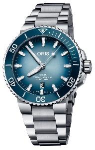 Oris Aquis Lake Baikal Limited Edition 01 733 7730 4175-Set - Worldwide Watch Prices Comparison & Watch Search Engine