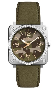 Bell & Ross BR S Quartz BRS-CK-ST-LGD/SCA - Worldwide Watch Prices Comparison & Watch Search Engine