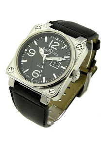 Bell & Ross BR 01 BR BLK LS - Worldwide Watch Prices Comparison & Watch Search Engine