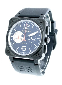Bell & Ross BR 03 BR BKSL CAR - Worldwide Watch Prices Comparison & Watch Search Engine