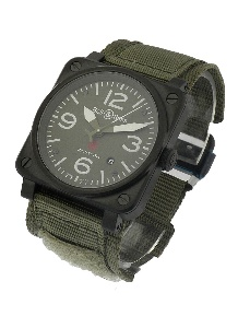 Bell & Ross BR 03 BR GRN CAR - Worldwide Watch Prices Comparison & Watch Search Engine