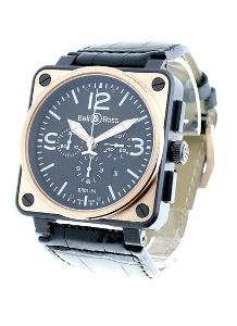 Bell & Ross BR 01 BR BICOLOR - Worldwide Watch Prices Comparison & Watch Search Engine