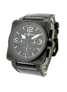Bell & Ross BR 01 BR BLK CAR LS - Worldwide Watch Prices Comparison & Watch Search Engine