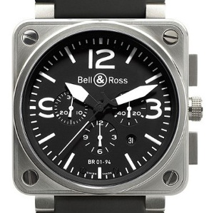 Bell & Ross BR 01 BR0194-BL-ST - Worldwide Watch Prices Comparison & Watch Search Engine