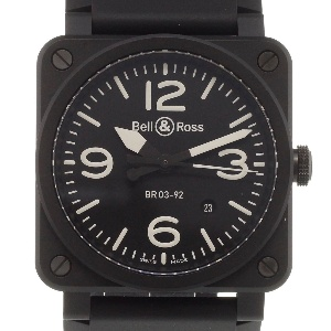 Bell & Ross BR 03 BR0392-BL-CE - Worldwide Watch Prices Comparison & Watch Search Engine