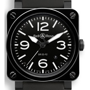 Bell & Ross BR 03-92 BR0392-CER-BLP/SRB - Worldwide Watch Prices Comparison & Watch Search Engine