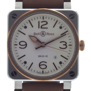 Bell & Ross BR 03-92 BR0392-ST-PG/SCA - Worldwide Watch Prices Comparison & Watch Search Engine