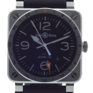 Bell & Ross BR 03 BR0393-GMT-ST/SCA - Worldwide Watch Prices Comparison & Watch Search Engine