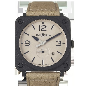 Bell & Ross BR S BRS-DESERT-CEM - Worldwide Watch Prices Comparison & Watch Search Engine