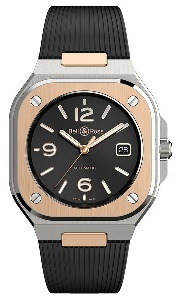 Bell & Ross BR 05 Black Steel & Gold BR05A-BL-STPG/SRB - Worldwide Watch Prices Comparison & Watch Search Engine