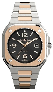 Bell & Ross BR 05 Black Steel & Gold BR05A-BL-STPG/SSG - Worldwide Watch Prices Comparison & Watch Search Engine