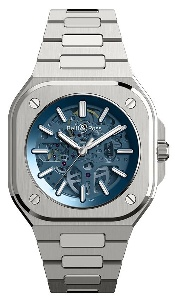 Bell & Ross BR 05 Skeleton Blue BR05A-BLU-SKST/SST - Worldwide Watch Prices Comparison & Watch Search Engine