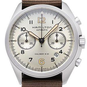 Hamilton Khaki Aviation Pilot Pioneer Chrono H76456955 - Worldwide Watch Prices Comparison & Watch Search Engine