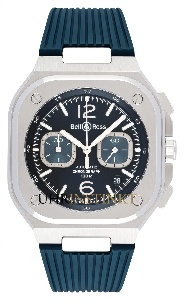 Bell & Ross BR 05 Chrono Blue Steel BR05C-BU-ST/SRB - Worldwide Watch Prices Comparison & Watch Search Engine