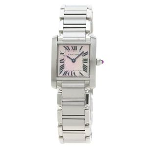Cartier Tank Francaise WG51208Q3 - Worldwide Watch Prices Comparison & Watch Search Engine