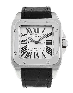 Cartier Santos 100 W20076X8 - Worldwide Watch Prices Comparison & Watch Search Engine