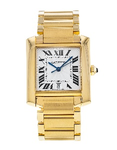Cartier Tank Francaise W50001R2 - Worldwide Watch Prices Comparison & Watch Search Engine