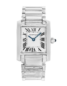 Cartier Tank Francaise W50012S3 - Worldwide Watch Prices Comparison & Watch Search Engine