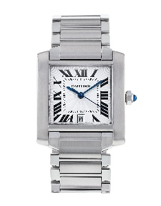 Cartier Tank Francaise W51002Q3 - Worldwide Watch Prices Comparison & Watch Search Engine