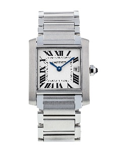 Cartier Tank Francaise W51011Q3 - Worldwide Watch Prices Comparison & Watch Search Engine