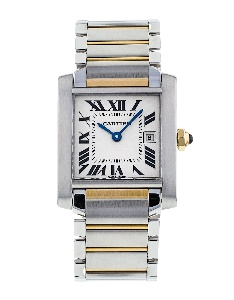 Cartier Tank Francaise W51012Q4 - Worldwide Watch Prices Comparison & Watch Search Engine
